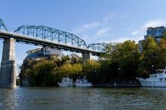 Ponte del fiume del cavalletto Fotografia Stock Libera da Diritti