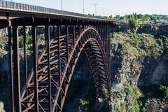 Ponte del fiume Snake Immagine Stock Libera da Diritti