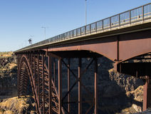 Ponte del fiume Snake Immagine Stock
