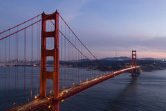 Ponte del Golden State, CA Immagine Stock