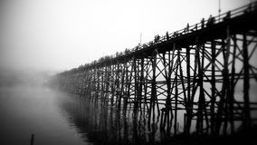 ponte del kanjanaburi Fotografia Stock Libera da Diritti