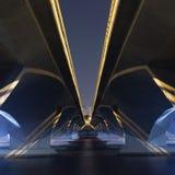Ponte del lungomare Fotografia Stock Libera da Diritti