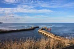 Ponte del mare fotografie stock libere da diritti