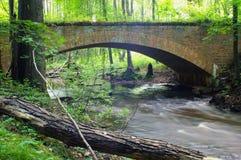 Ponte del mattone Fotografia Stock