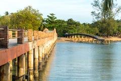 Ponte del mattone Fotografie Stock Libere da Diritti