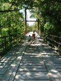 Ponte del paese Fotografia Stock Libera da Diritti