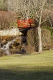 Ponte del parco Immagine Stock