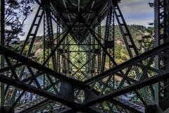 Ponte del passaggio di inganno fotografie stock libere da diritti