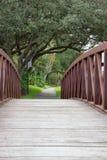 Ponte del passaggio pedonale immagine stock