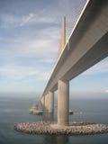 Ponte del porto Immagini Stock Libere da Diritti