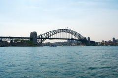 Ponte del porto Immagine Stock Libera da Diritti