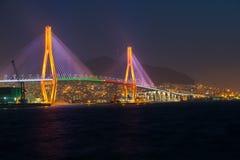 Ponte del porto di Busan Immagine Stock Libera da Diritti