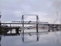 Ponte del porto di Tacoma Fotografie Stock Libere da Diritti