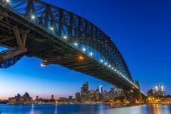 Ponte del porto a Sydney Fotografia Stock Libera da Diritti
