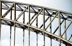 Ponte del porto in Sydney Australia Fotografia Stock Libera da Diritti