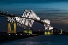 Ponte del portone di Tokyo Fotografia Stock