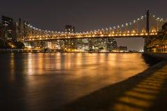 Ponte del Queens Fotografia Stock Libera da Diritti