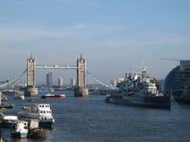 Ponte del Tamigi, Londra immagine stock