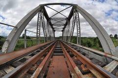Ponte del treno immagine stock libera da diritti