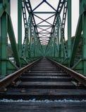 Ponte del treno Immagini Stock Libere da Diritti