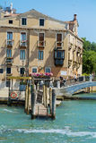 Ponte del Vin γέφυρα στη Βενετία, Ιταλία Στοκ εικόνα με δικαίωμα ελεύθερης χρήσης