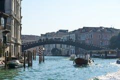 Ponte-dell'Accademia in Venedig Lizenzfreies Stockbild