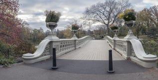 Ponte dell'arco in autunno tardo Fotografia Stock Libera da Diritti
