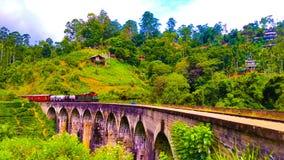 Ponte dell'arco di Ella nove immagini stock libere da diritti