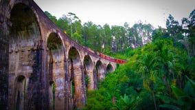 Ponte dell'arco di Ella nove immagine stock libera da diritti