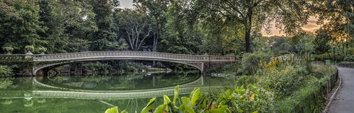 Ponte dell'arco di estate Fotografia Stock