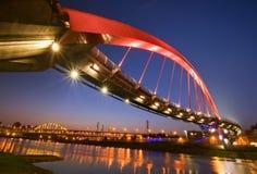 Ponte dell'arcobaleno di Taipei Fotografie Stock