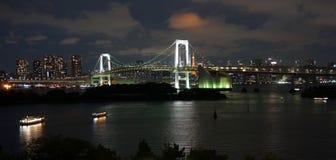 Ponte dell'arcobaleno di Tokyo fotografia stock