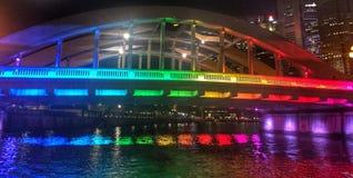 Ponte dell'arcobaleno fotografia stock libera da diritti
