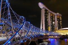 Ponte dell'elica Fotografia Stock