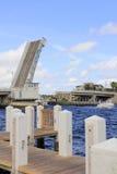 Ponte dell'entrata di Hillsboro Fotografie Stock