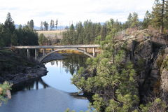 Ponte dell'Idaho Immagini Stock Libere da Diritti