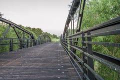 Ponte dell'insenatura di Cibolo Immagini Stock