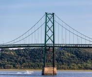 Ponte dell'isola di Orleans immagini stock libere da diritti