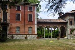 Ponte dell`Olio Piacenza: historic villa. Ponte dell`Olio Piacenza, Emilia-Romagna, italy: historic villa exterior Stock Photography
