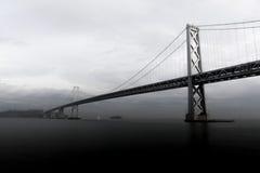 Ponte della baia immagini stock