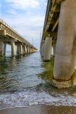 Ponte della baia di Chesapeake Fotografie Stock