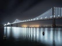 Ponte della baia di Oakland Immagine Stock Libera da Diritti