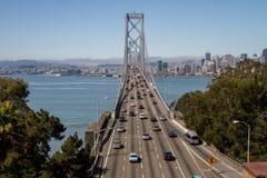 Ponte della baia di San Franicso Immagini Stock Libere da Diritti