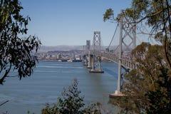 Ponte della baia di San Franicso Immagine Stock Libera da Diritti
