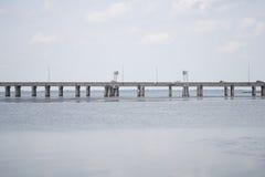 Ponte della baia mobile immagini stock libere da diritti
