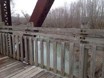 Ponte della bicicletta Immagini Stock Libere da Diritti