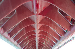 Ponte della Costituzione, Calatrava most, Wenecja Obrazy Stock