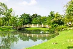Ponte della curvatura Fotografie Stock