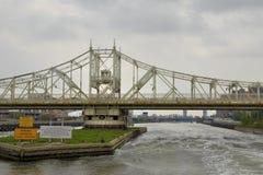 Ponte della diga di Macombs, NYC Immagine Stock