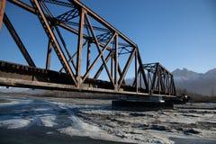 Ponte della ferrovia Immagine Stock Libera da Diritti